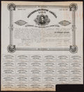 Confederate Notes:Group Lots, Ball 102 Cr. 41 $100 Bond 1861 Fine. . ...