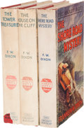 Books:Children's Books, Franklin W. Dixon. Three Hardy Boys First Editions in DustJackets.... (Total: 3 Items)
