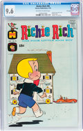 Bronze Age (1970-1979):Humor, Richie Rich #95 File Copy (Harvey, 1970) CGC NM+ 9.6 Off-white towhite pages....