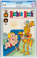 Bronze Age (1970-1979):Humor, Richie Rich #96 File Copy (Harvey, 1970) CGC NM 9.4 Off-white towhite pages....