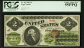Large Size:Legal Tender Notes, Fr. 41a $2 1862 Legal Tender PCGS Choice About New 55PPQ.. ...