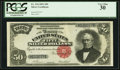 Large Size:Silver Certificates, Fr. 334 $50 1891 Silver Certificate PCGS Very Fine 30.. ...