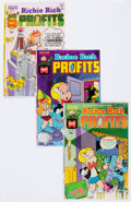 Bronze Age (1970-1979):Cartoon Character, Richie Rich Profits File Copy Short Box Group (Harvey, 1974-82)Condition: NM-....