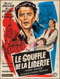 "Movie Posters:Foreign, Andrea Chenier (Lux Compagnie Cinématographique de France, 1955). French Grande (47"" X 62""). Foreign.. ..."