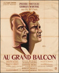 """Movie Posters:Foreign, Au Grand Balcon (Les Films Corona, 1949). French Grande (47"""" X 62""""). Foreign.. ..."""