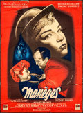 """Movie Posters:Foreign, Maneges (DisCina, 1950). French Grande (46"""" X 62""""). Foreign.. ..."""