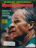 "Hockey Collectibles:Publications, Gordie Howe Signed ""Sports Illustrated"" Magazine...."