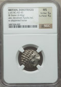 Ancients:Celtic, Ancients: CELTIC BRITAIN. Durotriges (ca. 65 BC-AD 45). BIL stater(4.46 gm)....