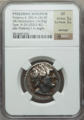 Ancients:Greek, Ancients: PTOLEMAIC KINGDOM. Ptolemy II Philadelphos (285-246 BC).AR tetradrachm (14.09 gm)....