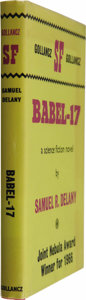 Books:Signed Editions, Samuel Delany: Signed First Edition of Babel-17 (London: Victor Gollancz, 1967), first hardcover edition, 192 pages, red... (Total: 1 Item)