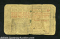 Colonial Notes:New Jersey, New Jersey April 23, 1761 15s Fine. Split along the center ...