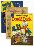 Golden Age (1938-1955):Miscellaneous, Dell Golden Age Disney Group (Dell, 1945-56).... (Total: 4 Comic Books)