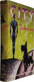 Books:Fiction, Clifford Simak: City (New York: Gnome Press, 1952), firstedition, 224 pages, blue-green cloth with dark blue lettering ...(Total: 1 Item)