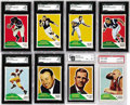 Football Cards:Sets, 1960 Fleer Football Complete Set (132).Offered is a mid to high grade 1960 Fleer set with the Jack Kemp Rookie in PSA NM-MT ...