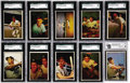 Baseball Cards:Sets, 1953 Bowman Color Baseball Complete Set (160). Offered is a solid middle grade 1953 Bowman Color Set. Quite possibly, the mo...