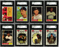 Baseball Cards:Sets, 1961 Topps Baseball Complete Set (587). Offered is a 1961 Topps set in mid to high grade. The 1961 Topps issue was one of th...