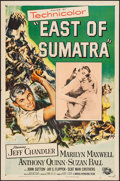 "Movie Posters:Adventure, East of Sumatra & Other Lot (Universal, 1953). One Sheets (2)(27"" X 41""). Adventure.. ... (Total: 2 Items)"