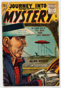 Golden Age (1938-1955):Horror, Journey Into Mystery #25 (Atlas, 1955) Condition: GD/VG....
