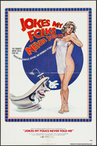 """Jokes My Folks Never Told Me (New World, 1977). One Sheet (27"""" X 41""""). Comedy"""