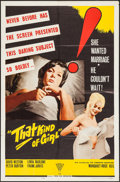 "Movie Posters:Exploitation, That Kind of Girl & Other Lot (Topaz, 1963). One Sheets (2)(27"" X 41""). Exploitation.. ... (Total: 2 Items)"