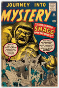 Silver Age (1956-1969):Mystery, Journey Into Mystery #59 (Marvel, 1960) Condition: VG....