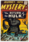 Silver Age (1956-1969):Horror, Journey Into Mystery #66 (Marvel, 1961) Condition: GD/VG....