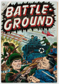 Golden Age (1938-1955):War, Battle Ground #1 (Atlas, 1954) Condition: VG/FN....