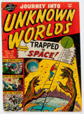 Golden Age (1938-1955):Science Fiction, Journey Into Unknown Worlds #5 (Atlas, 1951) Condition: VG-....