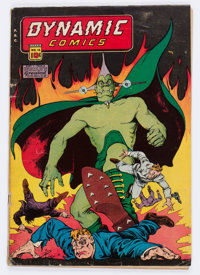 Dynamic Comics #18 (Chesler, 1946) Condition: VG-