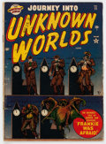 Golden Age (1938-1955):Horror, Journey Into Unknown Worlds #11 (Atlas, 1952) Condition: GD-....