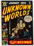 Golden Age (1938-1955):Horror, Journey Into Unknown Worlds #13 (Atlas, 1952) Condition: VG....