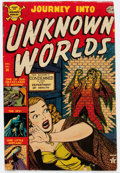 Golden Age (1938-1955):Horror, Journey Into Unknown Worlds #14 (Atlas, 1952) Condition: GD/VG....