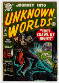 Golden Age (1938-1955):Horror, Journey Into Unknown Worlds #15 (Atlas, 1953) Condition: GD....