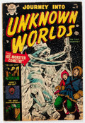 Golden Age (1938-1955):Horror, Journey Into Unknown Worlds #17 (Atlas, 1953) Condition: VG....