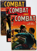 Golden Age (1938-1955):War, Combat Group of 6 (Atlas, 1952-53) Condition: Average GD/VG....(Total: 6 Comic Books)