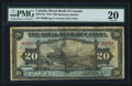 Canadian Currency: , Montreal, PQ- Royal Bank of Canada $20 Jan. 2, 1913 Ch. # 630-12-10. ...