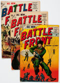 Golden Age (1938-1955):War, Battlefront Group of 9 (Atlas, 1955-57) Condition: Average VG-....(Total: 11 Comic Books)