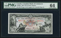Canadian Currency: , Toronto, ON- Canadian Bank of Commerce $10 Jan. 2, 1935 Ch. #75-18-08a . ...