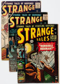 Silver Age (1956-1969):Science Fiction, Strange Tales Group of 15 (Atlas/Marvel, 1953-62) Condition:Average GD/VG except as noted.... (Total: 15 Comic Books)