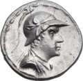 Ancients:Greek, Ancients: GRECO-BACTRIAN KINGDOM. Eucratides I the Great (ca. 170-145 BC). AR tetradrachm (32mm, 16.97 gm, 12h)....