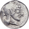 Ancients:Greek, Ancients: ATTICA. Athens. Ca. 500-480 BC. AR tetradrachm (21mm,17.59 gm, 3h)....