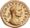 Ancients:Roman Imperial, Ancients: Tacitus (AD 275-276). AV aureus (20mm, 4.55 gm,12h). ...