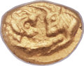 Ancients:Greek, Ancients: LYDIAN KINGDOM. Croesus (ca. 560-546 BC). AV sixth-stater or hecte (8mm, 1.37 gm). ...