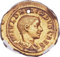 Ancients:Roman Imperial, Ancients: Philip II, as Caesar (AD 244-247). AV aureus (22mm, 4.26 gm, 6h)....