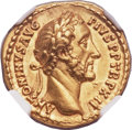 Ancients:Roman Imperial, Ancients: Antoninus Pius (AD 138-161). AV aureus (21mm, 7.30 gm,6h)....