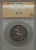 1861-O 50C XF45 ANACS. NGC Census: (27/212). PCGS Population (52/242). Mintage: 2,532,633. Numismedia Wsl. Price for pro...