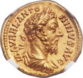 Ancients:Roman Imperial, Ancients: Marcus Aurelius (AD 161-180). AV aureus (21mm, 7.34 gm,6h)....