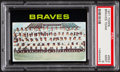 Baseball Cards:Singles (1970-Now), 1971 Topps Braves Team #652 PSA Mint 9....