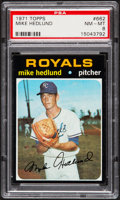 Baseball Cards:Singles (1970-Now), 1971 Topps Mike Hedlund #662 PSA NM-MT 8....