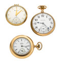 Timepieces:Pocket (post 1900), Three Open Face Pocket Watches. ... (Total: 3 Items)
